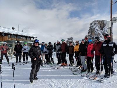 group photo Cortina