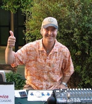 photo of DJ Rick Lyons